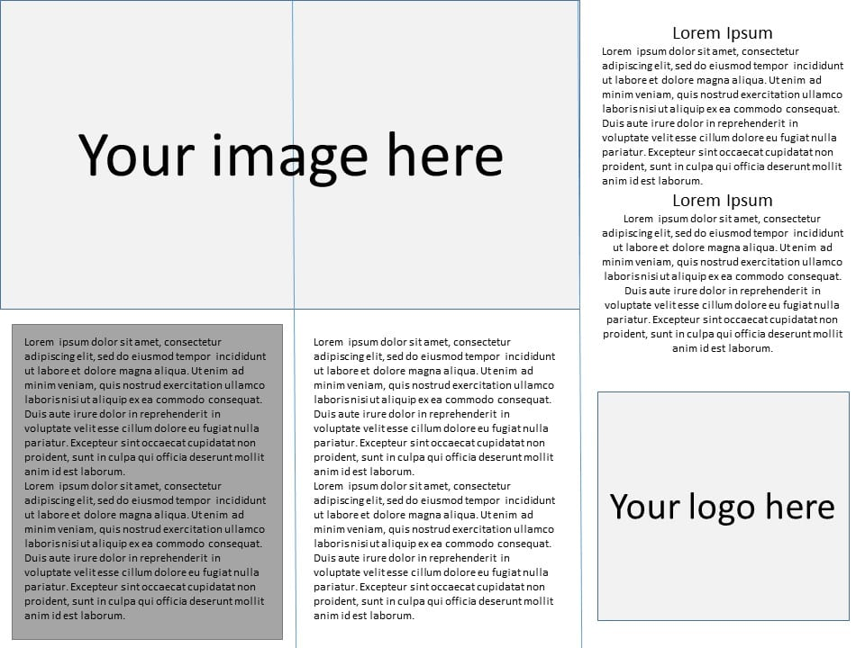 how many words can fit in a tri fold brochure unique web copy