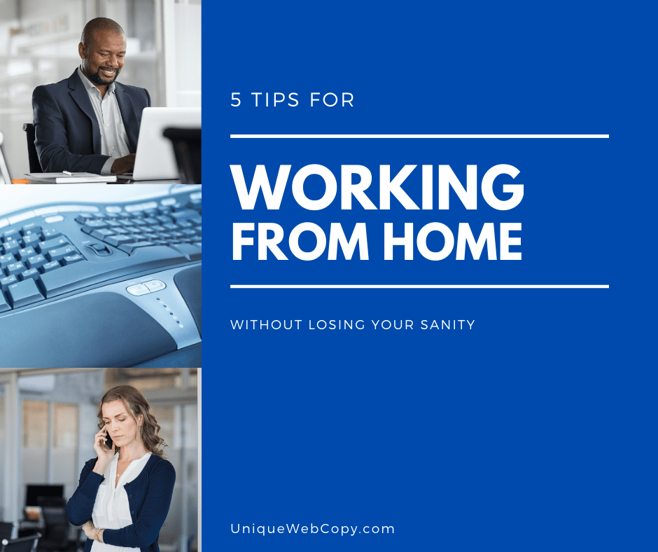 Tips for Working From Home From Angie Papple Johnston