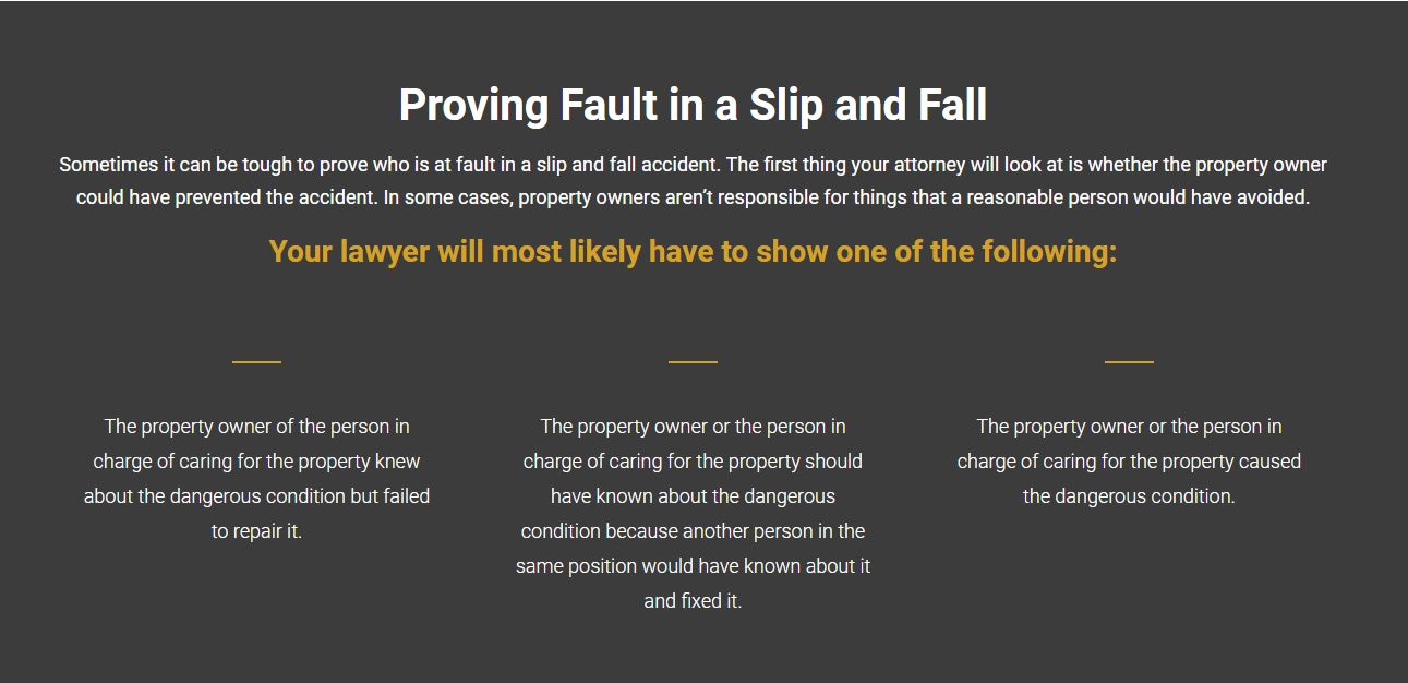 Website Copy for Personal Injury Attorneys
